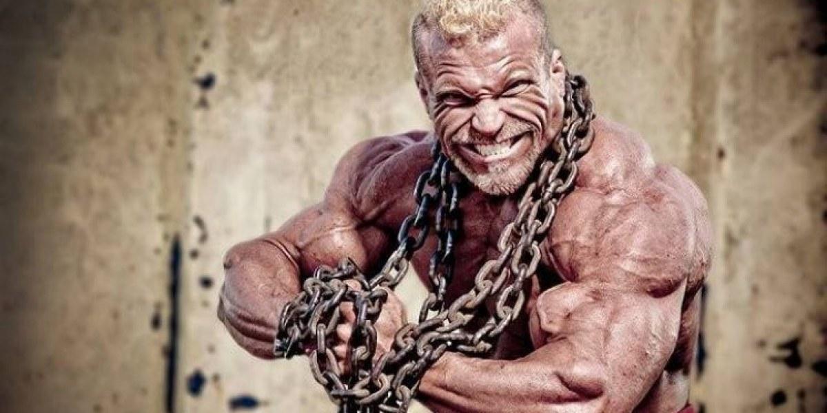 Vegan Mr Universe . Bodybuilding Meat Free